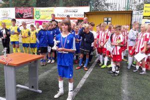 Wakacyjny Turniej Piłki Nożnej o Puchar Banku Spółdzielczego w Sierakowicach 2016 dla Cartusii 1923 Kartuzy