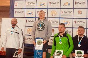 Jakub Struczyński na podium Akademickich Mistrzostw Polski