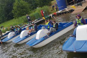 Ruszyły zapisy do wyścigów na rowerkach wodnych w Ostrzycach
