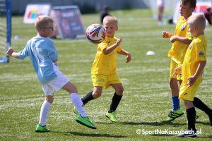 Santander Cup w Kartuzach. Trwa dwudniowy turniej piłki nożnej dzieci, w niedzielę finały
