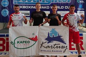 Wilczewski, Kryszewski i Mański na podium Pucharu Świata w Kick - Boxingu WAKO w Rimini