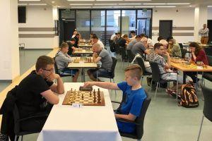 Paweł Teclaf wicemistrzem Pomorza seniorów w szachach szybkich