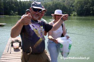 Ostrzyckie Wędkowanie. Niepełnosprawni po raz 17. łowili ryby i bawili się w Ostrzycach