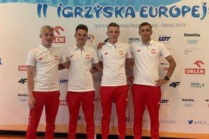 Damian Sławek startował z drużyną na torze w Mińsku w Igrzyskach Europejskich