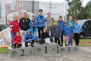 Dwa medale dla żeglarzy z powiatu w Mistrzostwach Polski Juniorów Młodszych w Klasie Cadet