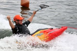 Kajaki, SUP-y i ratownicy na Polish Kayak Games na Złotej Górze