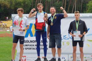 Krzysztof Różnicki wygrał Ogólnopolską Olimpiadę Młodzieży w Poznaniu