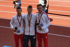 Krzysztof Różnicki srebrnym medalistą biegu na 800 m Młodzieżowych Igrzysk Europejskich w Baku
