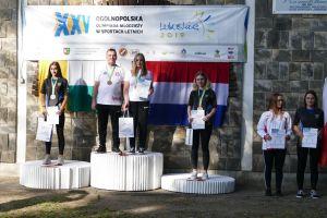 Magdalena Malotka - Trzebiatowska z dwoma złotami w finale Ogólnopolskiej Olimpiady Młodzieży