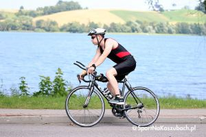 Zdjęcia z etapu kolarskiego Evo Triathlonu w Chmielnie