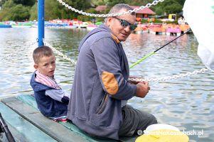 Natan Ochal zwycięzcą zawodów wędkarskich na Ostrzyckim Lecie