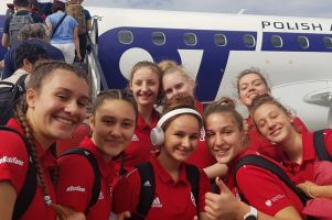 Agata Makurat i Emily Kalenik rozpoczynają Mistrzostwa Europy U16 w Koszykówce
