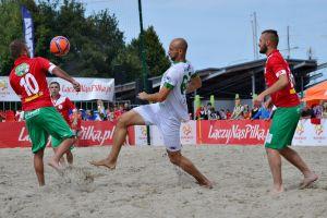 Łukasz Stasiak, zawodnik GKS-u Przodkowo, powołany do reprezentacji Polski w piłce plażowej