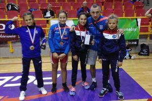 Trzy medale zapaśniczek w Międzynarodowych Mistrzostwach Polski Szkół Podstawowych