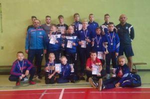 Młodzi zawodnicy Cartusii w Miastku otworzyli drugą część sezonu zapaśniczego
