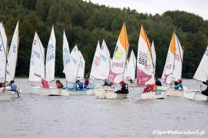 Prawie 200 zawodników płynie w Żeglarskich Mistrzostwach Kartuz