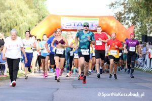 Bieg Arasmusa 2019. Zdjęcia z rozgrzewki i startu biegu głównego na 5 km w Kiełpinie [GALERIA nr 2]