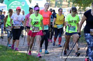 Maszerowali z kijami i biegali w Koronie Północy Polski