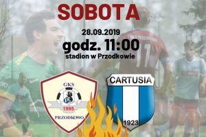 Derby IV ligi GKS Przodkowo - Cartusia 1923 Kartuzy i inne piłkarskie mecze weekendu