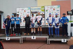 Damian Sławek i Kaper Wiszniewski na podium Mistrzostw Polski w Jeździe Dwójkami 2019