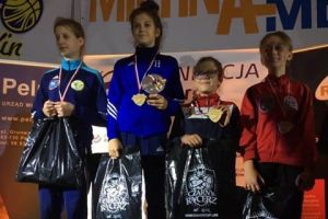 Cztery zawodniczki Cartusii Kartuzy na podium Gali Zapasów w Pelplinie