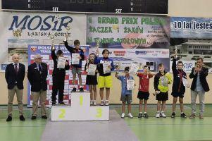 Samuel Michna z Lisa Sierakowice zwycięzcą Grand Prix Polski Żaków w Tenisie Stołowym