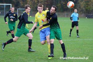 B klasa. Sześć zwycięstw ekip z powiatu, sporo bramek w derbach w Sulęczynie i Kiełpinie