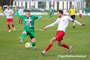 Radunia Stężyca - KKS Kalisz. Sporo walki, ale bez bramek w meczu na szczycie III ligi