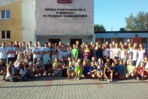 UKS Trops Kartuzy na obozie w Brodnicy. 70 młodych sportowców integruje się i przygotowuje do sezonu