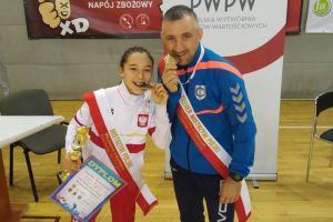 Dominika Konkel w imponującym stylu obroniła tytuł zapaśniczej mistrzyni Polski młodziczek
