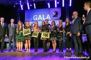 Gala Kaszuby Biegają 2019. Alicja Misiak i Łukasz Kujawski zwycięzcami, aż 112 kaszubskich stolemów