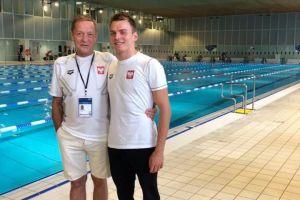 Jakub Skierka tuż za podium Mistrzostw Europy w Pływaniu