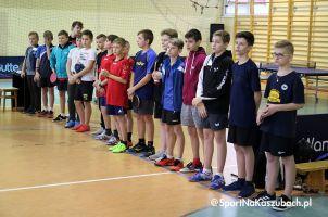 W Miechucinie wyłoniono mistrzów województwa w tenisie stołowym