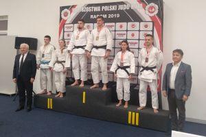 Marta Sowa na podium Mistrzostw Polski w Judo Kata w Radomiu