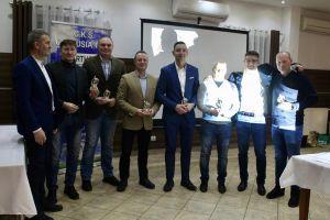 Piłkarze, działacze i sponsorzy Cartusii 1923 podsumowali 2019 rok i złożyli sobie świąteczne życzenia