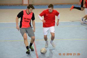 Żukowska Liga Futsalu. Top Trans wygrał z Lak Marem, Wronex wskoczył na podium