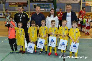 APK Jedynka Kartuzy wygrała pierwszy turniej halowy Granit Cup w Kartuzach