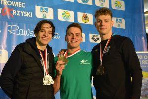 Jakub Skierka z drugim złotem Zimowych Mistrzostw Polski Seniorów w Pływaniu