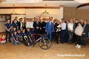 Kolarze Cartusii podsumowali sezon, podzielili się opłatkiem i podziękowali sponsorom