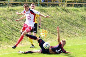 KS Chwaszczyno - Jarota Jarocin 2:0 (0:0). Chwaszczynianie ograli lidera, choć kończyli w dziesiątkę