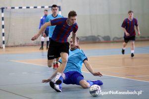 Remis w meczu liderów i duża niespodzianka w Kartuskiej Halowej Lidze Piłki Nożnej