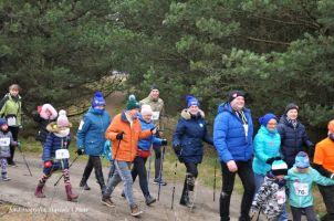 I Marsz Nordic Walking na finale WOŚP w Stężycy