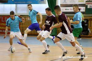 Emocjonujący mecz Gaz - Romu z Rulisem hitem otwarcia II rundy w kartuskiej lidze halowej