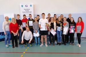 ZSZiO Kartuzy wygrał Powiatowy Turniej Tenisa Stołowego Dwie Rakiety w Goręczynie