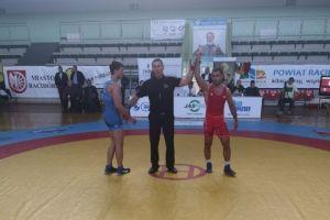 Złoty Gevorg Sahakyan, brązowy Aleks Mielewczyk w I Pucharze Polski w Zapasach w Raciborzu