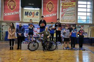 Dawid Michna na podium 3. Grand Prix Polski Kadetów w Jarosławiu