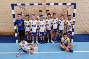 SP nr 5 Kartuzy wygrała Powiatowe Igrzyska Dzieci w Piłce Ręcznej Chłopców