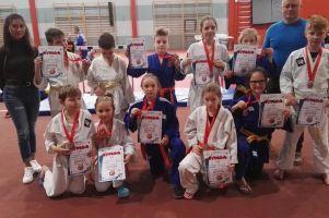 Judocy GKS-u Żukowo stawali na podium zawodów dzieci Gryfek w Słupsku