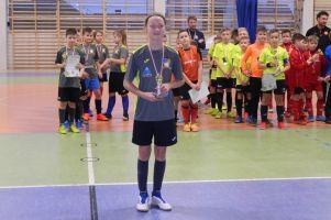 Zwycięstwo Chojniczanki Chojnice w Turnieju Piłki Nożnej Halowej Kiełpino Cup rocznika 2009