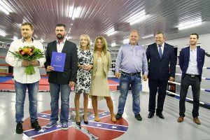 Kaszubskie Centrum Sportów Walki w Kartuzach otwarte - zdjęcia i filmik z uroczystości